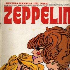 Cómics: ZEPPELIN (EDITORIAL BURULAN). LOTE DE 10 NÚMEROS (FALTAN EL 6 Y EL 11). Lote 26933571