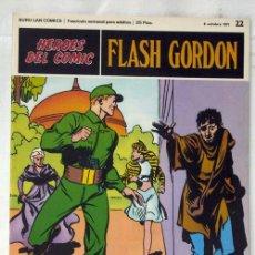 Cómics: FLASH GORDON Nº 22 COMBATIENDO POR LA REINA EDITORIAL BURU LAN BURULAN 1971. Lote 8213665