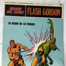 Cómics: FLASH GORDON Nº 06 LA REINA DE LA MAGIA EDITORIAL BURU LAN BURULAN 1972. Lote 8279254