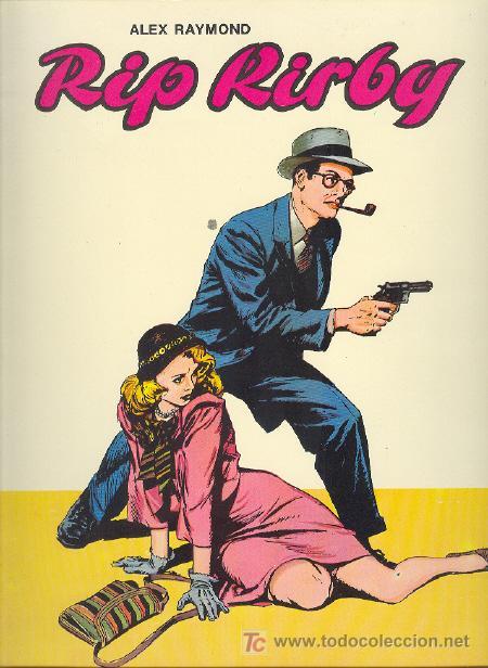 RIP KIRBY ( ED. BO ) Nº 1 (Tebeos y Comics - Buru-Lan - Rip Kirby)