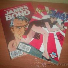 Cómics: LOTE DOS COMICS DE JAMES BOND Y MODESTY PLAISE , NUMEROS 4 LOS DOS. Lote 26830391