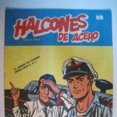 Cómics: COMIC HALCONES DE ACERO - Nº 1 - BURULAN - 1974. Lote 9103209