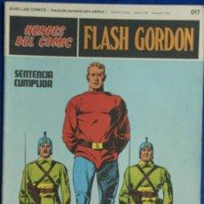 Cómics: FLASH GORDON Nº 017 BURU LAN 1972. Lote 9360892