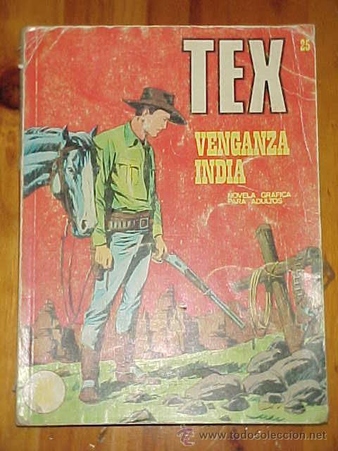 TEX. VENGANZA INDIA. Nº 25. (Tebeos y Comics - Buru-Lan - Tex)