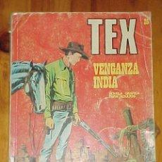 Cómics: TEX. VENGANZA INDIA. Nº 25.. Lote 9511130