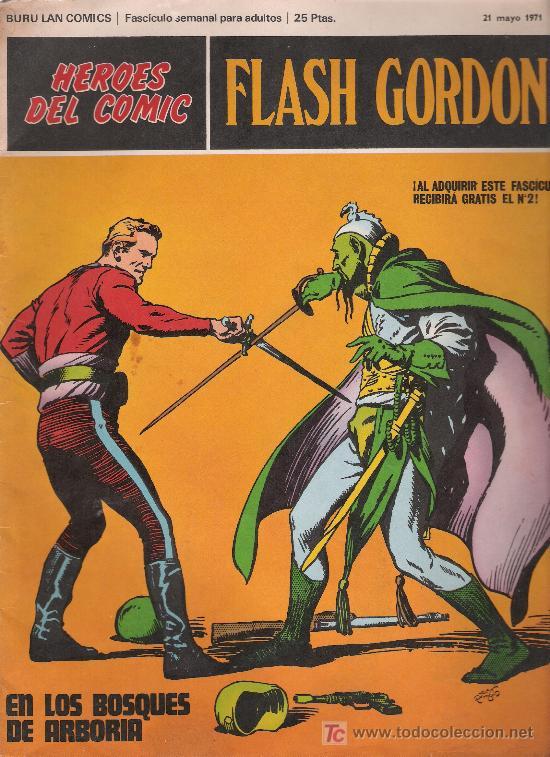FLASH GORDON. BURU LAN. Nº 1 (Tebeos y Comics - Buru-Lan - Flash Gordon)