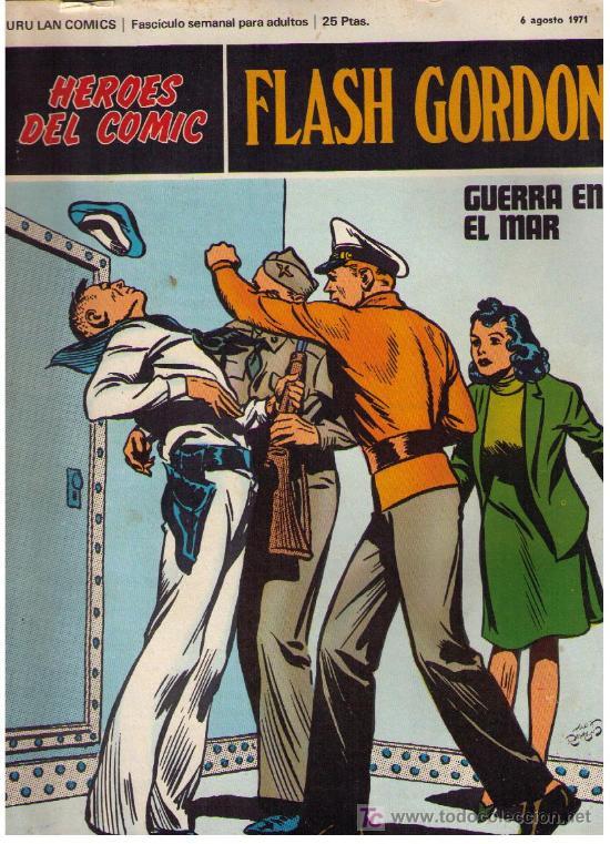 FLASH GORDON. BURU LAN 1972. LOTE DE 11 EJEMPLARES CORRELATIVOS DEL Nº 26 AL 36 (Tebeos y Comics - Buru-Lan - Flash Gordon)