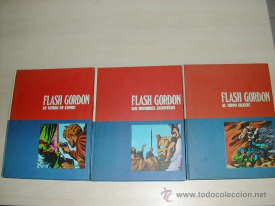 Cómics: FLASH GORDON BURULAN. LOTE 5 TOMOS O SUELTOS. - Foto 2 - 20194620