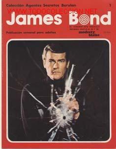 JAMES BOND NºS DEL 1 AL 4 EN TOMO Y LOS TOMOS 4 Y 5 CAJA 101 SUELTOS CONSULTAR (Tebeos y Comics - Buru-Lan - James Bond)