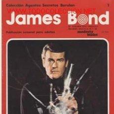 Cómics: JAMES BOND NºS DEL 1 AL 4 EN TOMO Y LOS TOMOS 4 Y 5 CAJA 101 SUELTOS CONSULTAR. Lote 24676292