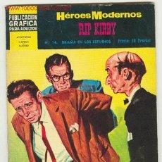 Cómics: HEROES MODERNOS RIP KIRBY -EDITORIAL DOLAR Nº14. Lote 27250249