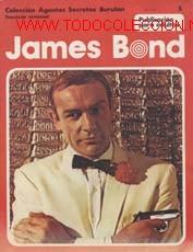 JAMES BOND-NºS 24,25,27 Y 5 (Tebeos y Comics - Buru-Lan - James Bond)