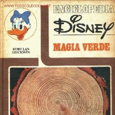 Cómics: ENCICLOPEDIA DISNEY Nº3 -MAGIA VERDE- BURU LAN EDICIONES 1972. Lote 14193738