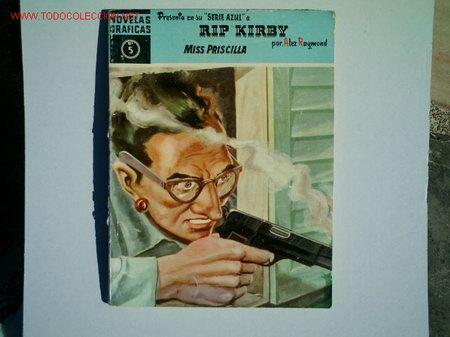 RIP KIRBY Nº 5 SERIE AZUL (Tebeos y Comics - Buru-Lan - Rip Kirby)