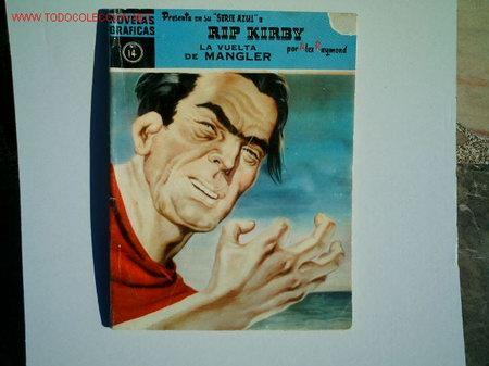 RIP KIRBY Nº 14 SERIE AZUL (Tebeos y Comics - Buru-Lan - Rip Kirby)