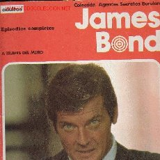 Cómics: JAMES BOND - A TRAVES DEL MURO. Lote 2416111