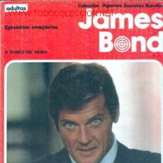 Cómics: JAMES BOND. A TRAVES DEL MURO (ALBUM NUMERO 1). EDITORIAL BURU LAN. Lote 26118631