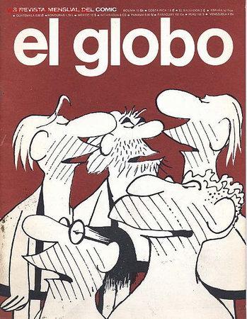 EL GLOBO Nº 3 - BURU LAN - 1973 (Tebeos y Comics - Buru-Lan - Otros)