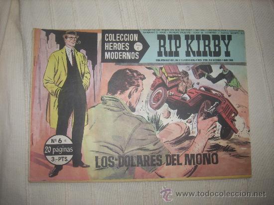 HEROES MODERNOS. SERIE C. Nº6. RIP KIRBY (Tebeos y Comics - Buru-Lan - Rip Kirby)