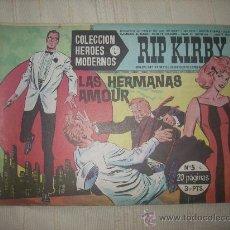 Cómics: HEROES MODERNOS. SERIE C. Nº5. RIP KIRBY. Lote 9950829
