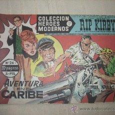Cómics: HEROES MODERNOS. SERIE C. Nº24 RIP KIRBY. Lote 9951014