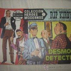 Cómics: HEROES MODERNOS. SERIE C. Nº35 RIP KIRBY. Lote 9951036