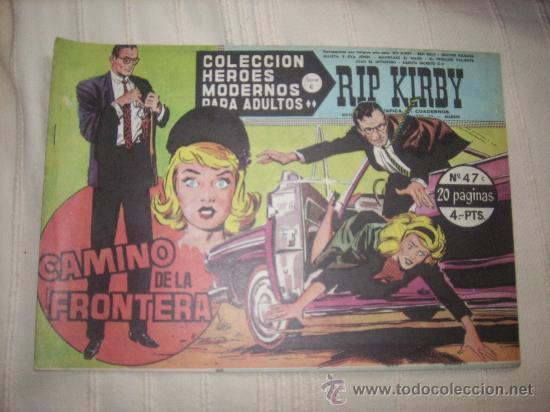HEROES MODERNOS. SERIE C. Nº47 RIP KIRBY (Tebeos y Comics - Buru-Lan - Rip Kirby)