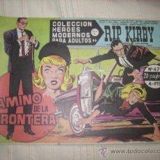 Cómics: HEROES MODERNOS. SERIE C. Nº47 RIP KIRBY. Lote 9951077