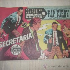 Cómics: HEROES MODERNOS. SERIE C. Nº62 RIP KIRBY. Lote 9951129