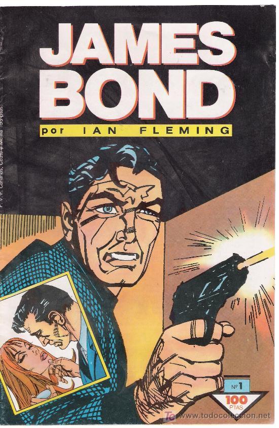 JAMES BOND.PLANETA. Nº 1. ¡IMPECABLE! (Tebeos y Comics - Buru-Lan - James Bond)
