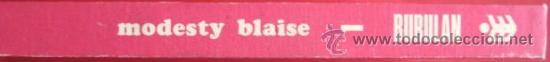 Cómics: COMICS.MODESTY BLAISE. Nº 1 1974 BURULAN. . ENVIO GRATIS¡¡¡ - Foto 3 - 26880171