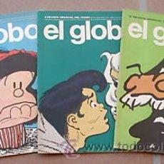Cómics: EL GLOBO. LOTE 3 COMICS Nº 2,4,5. ED.1973. C2572. Lote 10646242