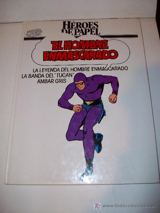 EL HOMBRE ENMASCARADO - HÉROES DE PAPEL- BURULAN (Tebeos y Comics - Buru-Lan - Hombre Enmascarado)
