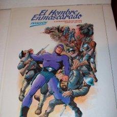 Cómics: EL HOMBRE ENMASCARADO - INVASIÓN - BURULAN. Lote 10672696