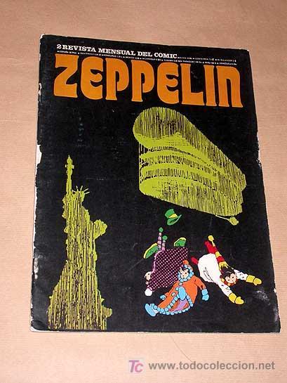 ZEPPELIN Nº 2. TEORÍA DEL CÓMIC. BURU LAN 1973. ANDY CAPP POR SMYTHE, JAMES BOND, JULES FEIFFER.++++ (Tebeos y Comics - Buru-Lan - James Bond)