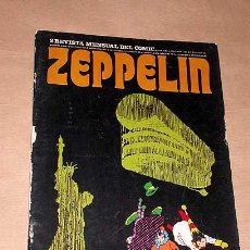Cómics: ZEPPELIN Nº 2. TEORÍA DEL CÓMIC. BURU LAN 1973. ANDY CAPP POR SMYTHE, JAMES BOND, JULES FEIFFER.++++. Lote 25426483