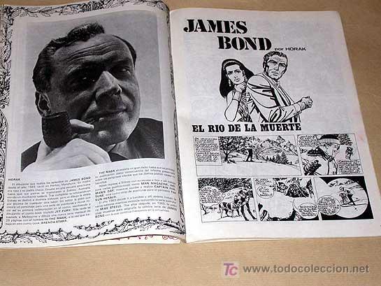 Cómics: ZEPPELIN Nº 2. TEORÍA DEL CÓMIC. BURU LAN 1973. ANDY CAPP POR SMYTHE, JAMES BOND, JULES FEIFFER.++++ - Foto 2 - 25426483