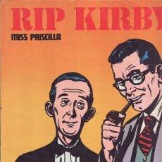 Cómics: RIP KIRBY - MISS PRISCILLA Y EL FIN DE UNA PESADILLA - EDICIONES BURULAN (1974). Lote 27372577