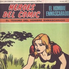 Cómics: HEROES DEL COMIC - Nº21 EL HOMBRE ENMASCARADO - EL TESORO DEL HOMBRE ENMASCARADO (18 JUNIO 1971). Lote 25402464