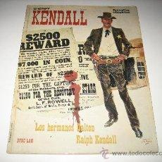 Cómics: SHERIFF KENDALL Nº1 -BURU LAN. Lote 28469760