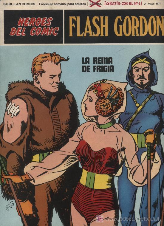 FLASH GORDON.BURU LAN. Nº 2 (Tebeos y Comics - Buru-Lan - Flash Gordon)