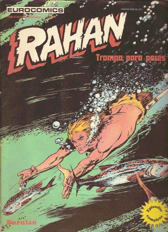 RAHAN Nº2 EDITA BURU LAN (Tebeos y Comics - Buru-Lan - Rahan)