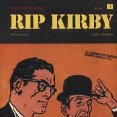 Cómics: RIP KIRBY. HEROES DEL COMIC. BURU LAN. Nº 1. Lote 21732243