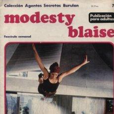 Cómics: MODESTY BLAISE. BURU LAN 1974. Nº 7. Lote 21732244