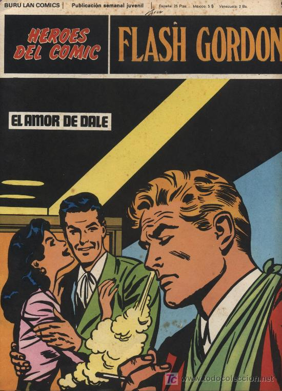 FLASH GORDON. HEROES DEL COMIC. BURU LAN Nº 9 (Tebeos y Comics - Buru-Lan - Flash Gordon)