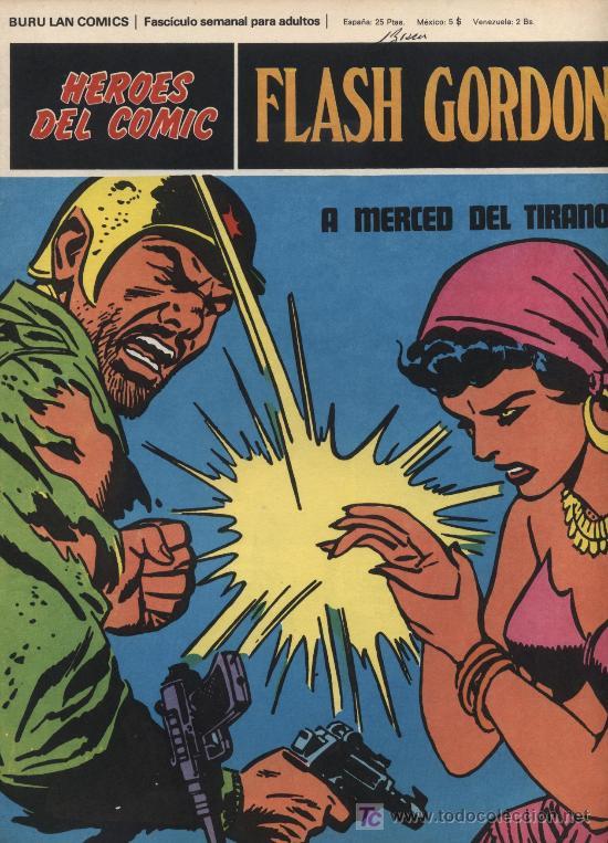 FLASH GORDON.HEROES DEL COMIC.BURU LAN Nº 82 (Tebeos y Comics - Buru-Lan - Flash Gordon)