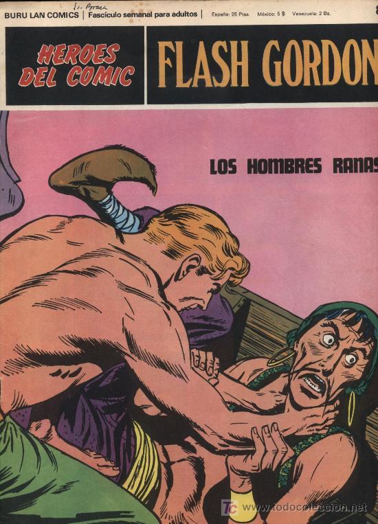 FLASH GORDON. HEROES DEL COMIC. BURU LAN Nº 80 (Tebeos y Comics - Buru-Lan - Flash Gordon)
