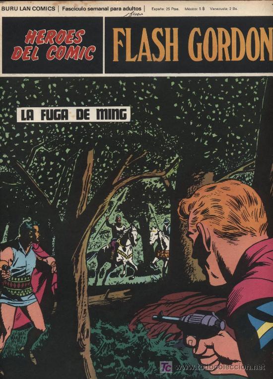 FLASH GORDON.HEROES DEL COMIC.BURU LAN Nº 77 (Tebeos y Comics - Buru-Lan - Flash Gordon)