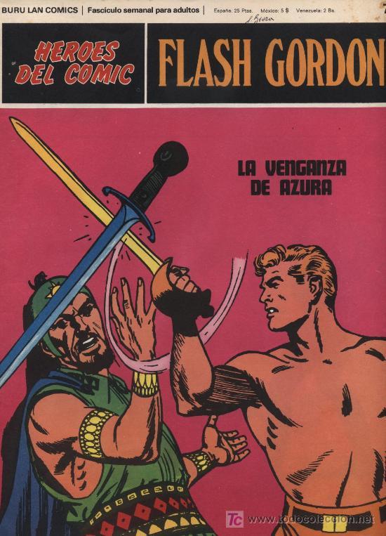 FLASH GORDON.HEROES DEL COMIC.BURU LAN Nº 76 (Tebeos y Comics - Buru-Lan - Flash Gordon)