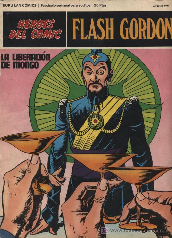 FLASH GORDON. BURU LAN. Nº 11 (Tebeos y Comics - Buru-Lan - Flash Gordon)